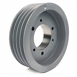 Quick Detachable Bushed Bore Standard V-Belt Pulley, For V-Belt Section: 3V, 3VX