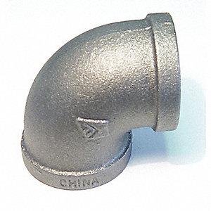 ELBOW GALV MI 90 2-1/2IN