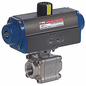 VALVE 2000# SS IP 1/2IN DA ACTUATOR