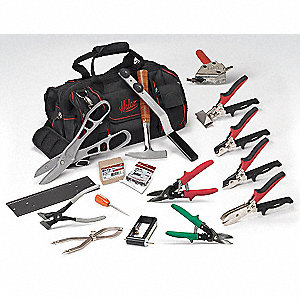 General Hand Tool Kit, Number of Pieces:  16, Application:  Starter