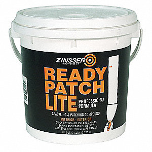 Spackling and Patching Compound