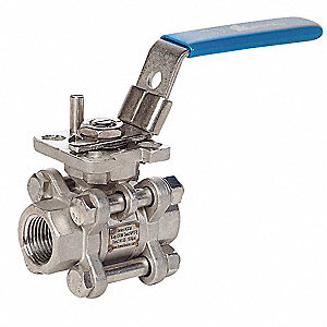 VALVE BALL H3DM 3PC SS IP 3/4IN