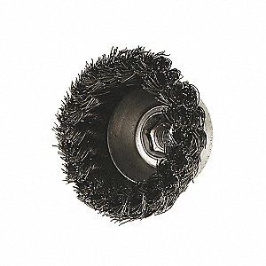 KNOT CUP BRUSH SS .020 5INX5/8-11