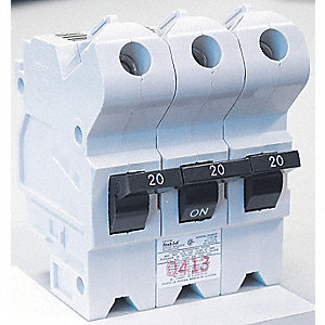 BREAKER BOLT-ON 3-POLE 15AMP