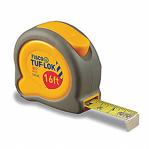 TAPE MEASURE TUF-LOK 8M/26FT X 1IN