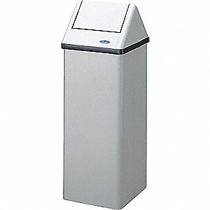 FREE STANDING WH WASTE RCPTCLE 105L