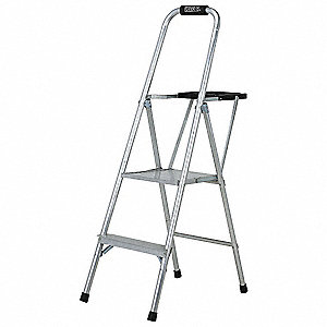 LADDER ALUMINUM PLATFORM STEP  4FT