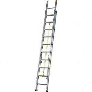 LADDER ALUM EXT D RUNG 40FT TYPE1A