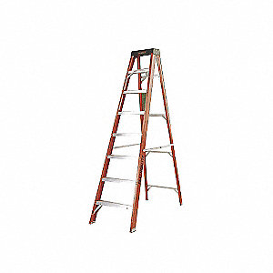 LADDER FIBERGLASS STEP 7FT TYPE1