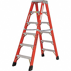 LADDER FIBER 2-WAY 12FT TYPE 1AA