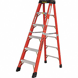 LADDER FIBERGLASS STEP 4FT TYPE 1AA