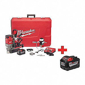 "3/4"" Lineman Magnetic Drill Kit, 18.0 Voltage, Battery Included"