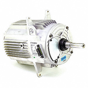 Motor, 1-1/4 HP, 208-230V, 3-Phase, 850 rpm,  Fits Brand Carrier