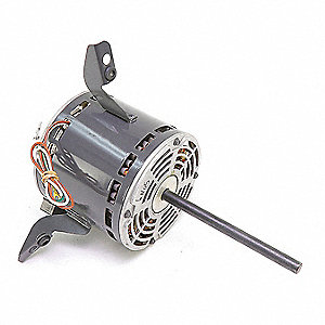 Motor, 3/4 HP, 460V, 1-Phase, 1025 rpm,  Fits Brand Carrier
