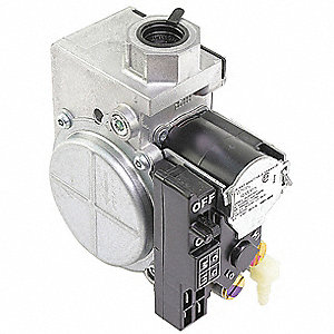"Gas Valve, 3/4"", Nat, 24V, 3.5"" WC"