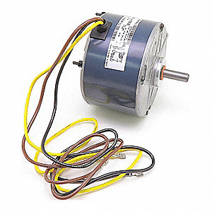 Motor, 1/6 HP, 208-230V, 1500 rpm,  Fits Brand Carrier,  For Use With Mfr. Model Number 38CKB024-320