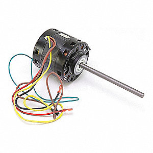 "Motor, 1/8 HP, 208-230V, 1625 rpm, 1/2"" SFT,  Fits Brand Carrier"