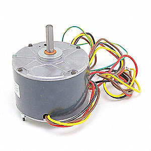 Motor, 1/5 HP, 208-230V, 1125 rpm,  Fits Brand Carrier,  For Use With Mfr. Model Number 48GL-036-501