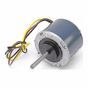 Motor, 1/4 HP, 208-230V, 1-Phase, 1650 rpm,  Fits Brand Carrier