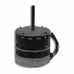 Motor, 460V, 1-Phase, 1/4 HP, 1000 rpm,  Fits Brand Carrier