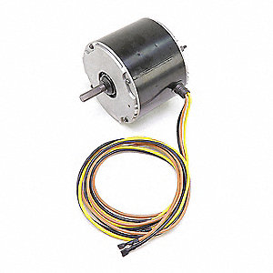 Motor, 1/4 HP, 460V, 1100 rpm,  Fits Brand Carrier,  For Use With Mfr. Model Number 48HJD006-630