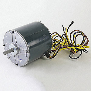 Motor, 460V, 1-Phase, 1100 rpm, 1/2 HP,  Fits Brand Carrier