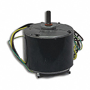 Motor, 1/4 HP, 460V, Single Phase, 1100 rpm,  Fits Brand Carrier