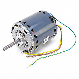 Motor, 1/3 HP, 208-230V, 850 rpm, 2 SPD,  Fits Brand Carrier