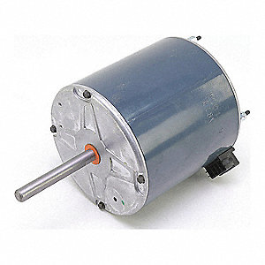 Motor, 1/2 HP, 460V, 1-Phase, 10500-850 rpm, CW,  Fits Brand Carrier