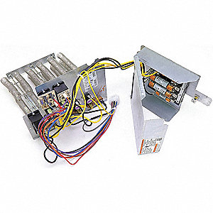 Electric Heat Kit, 15kW, 1-Phase, Fused,  Fits Brand Carrier
