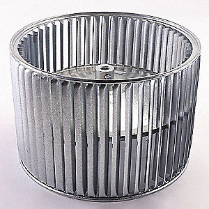 "Wheel, 1/2"" Bore, CW, 11-7/8"" dia.,  Fits Brand Carrier"