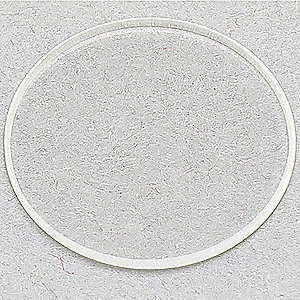 Quartz Window,  Fits Brand Fireye,  For Use With Mfr. Model Number 60-1257