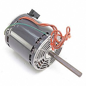 Motor, 1 HP, 208-230V, 1100 rpm, 4 SPD, CCW