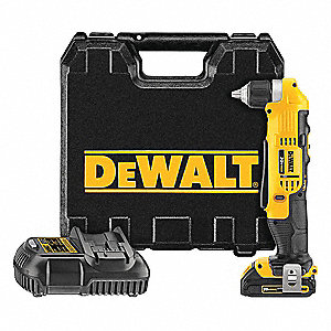 "3/8"" 20V MAX® Cordless Right Angle Drill Kit, 20.0 Voltage, Battery Included"