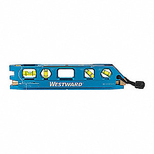 Torpedo Laser Level,Int/Ext,Red,200 ft.