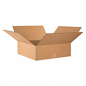 "Shipping Carton,Kraft,24"" L,24"" W,8"" D"