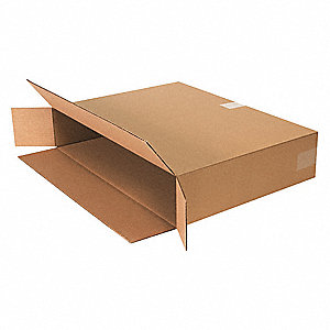 "Shipping Carton,Kraft,24"" L,5"" W,18"" D"