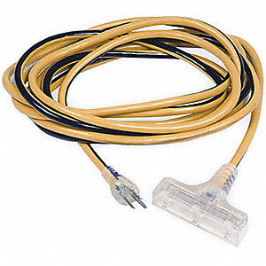 CORD EXTENSION TRI-SOURCE 50FT 12/3