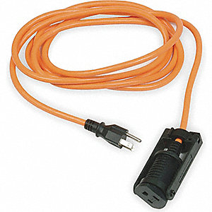 EXTENSION CORD E-ZEE LOCK 25FT 16/3