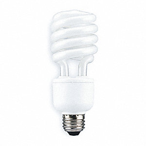 SCREW-IN CFL, 23W, NON-DIMM, 4100K