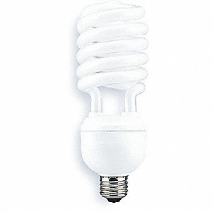 SCREW-IN CFL, 40W, NON-DIMM, 4100K