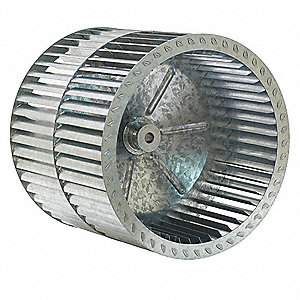 BLOWER WHEEL,DIA 13 IN,BORE 5/8 IN