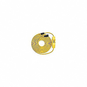 LINE CORD GFCI 15A 25FT YELLOW