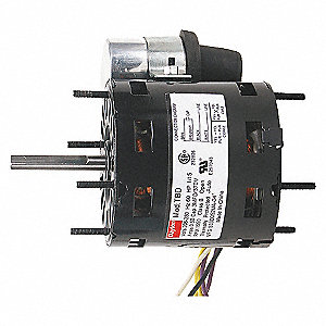 HVAC MOTOR,3000 RPM,115V,1/10 HP