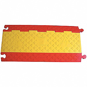 CBL PROTCT,17.5 IN W,RED+YELLOW