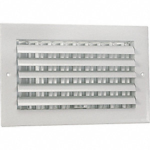SIDEWALL/CEILING REGISTER,ADJ
