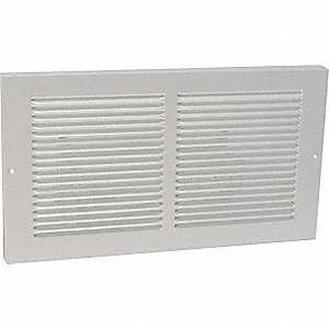 RETURN AIR BASEBOARD GRILLE,8X30 IN