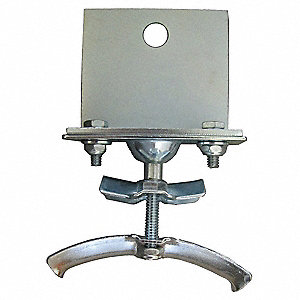 Festoon End Clamp,Round,0.60-0.94 O.D.