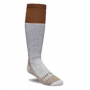 Outdoor,Socks,Mid-Calf,Mens,L,Brown,PR