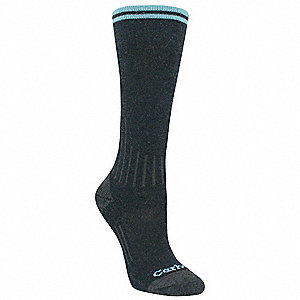 Women's Over-the-Calf Compression Socks, Navy Blue, 1 PR
